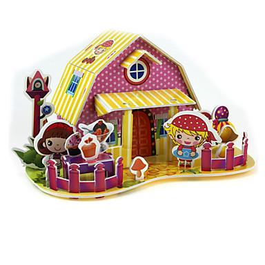 voordelige 3D-puzzels-Legpuzzels 3D-puzzels Bouw blokken DHZ-speelgoed Vierkant