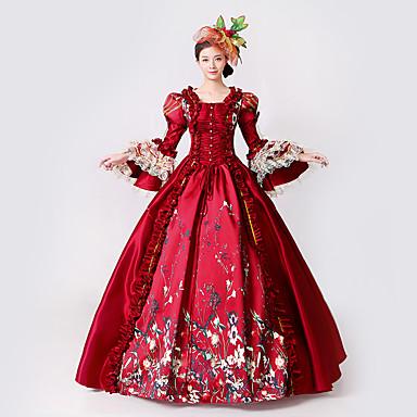 Halloween Déesse Déguisement Femme Epoque Médiévale Princesse Rococo Fc3T1JKl