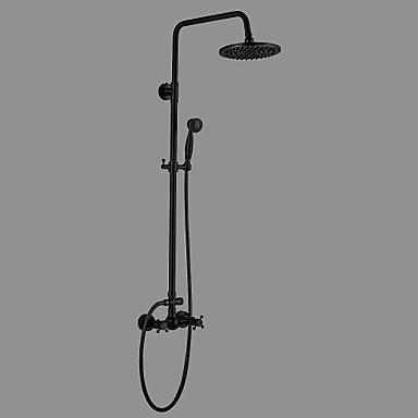 Shower Faucet Antique Oil Rubbed Bronze Centerset Ceramic Valve