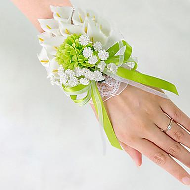 ดอกไม้สำหรับงานแต่งงาน ช่อดอกไม้ ช่อดอกไม้ข้อมือ การตกแต่งงานแต่งงานที่ไม่ซ้ำใคร อื่นๆ ดอกไม้ประดิษฐ์ งานแต่งงาน โอกาสพิเศษ งานปาร์ตี้ /