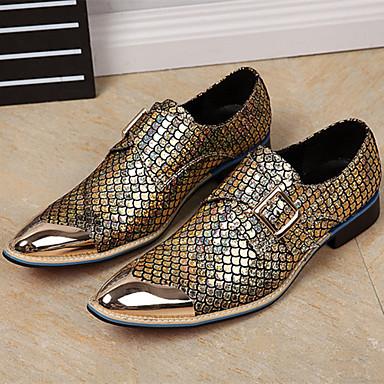 Novedad Zapatos Primavera Británico Hombre Cuero Oxfords Otoño A845wqxd
