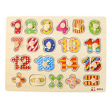 Puslespill ของเล่นคณิตศาสตร์ Duck ไม้ ทุกเพศ เด็กผู้ชาย Toy ของขวัญ