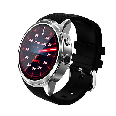 ดูสมาร์ท สำหรับ iOS / Android ตรวจสอบอัตรการเต้นของหัวใจ / GPS / โทรแบบไม่ใช้มือ / ขอสัมผัส / กันน้ำ นาฬิกาจับเวลา / ติดตามการทำกิจกรรม / ติดตามการนอนหลับ / ค้นหาอุปกรณ์ / นาฬิกาปลุก / 512MB