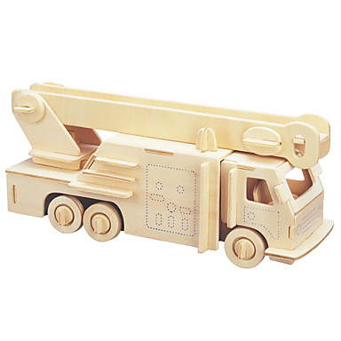 levne 3D puzzle-3D puzzle / Puzzle Hasičská auta Udělej si sám 1pcs Hasiči Dětské Unisex Dárek