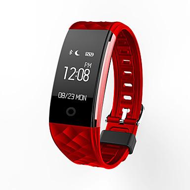 S21 ดูสมาร์ท / ติดตามการทำกิจกรรม / สร้อยข้อมือสมาร์ท iOS / Android กันน้ำ / กีฬา / ตรวจสอบอัตรการเต้นของหัวใจ เซนเซอร์อัตราการเต้นหัวใจ TPU ขาว / สีดำ / แดง / เผาผลาญแคลอรี่ / มาตรวัดจำนวนก้าว