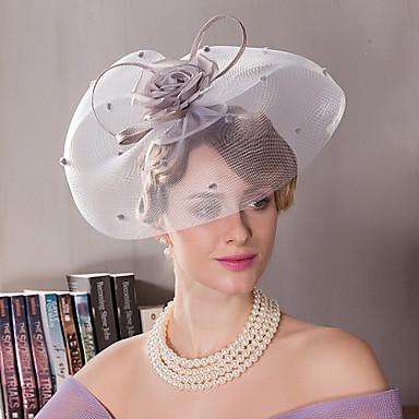 voordelige Hoeden-Zijde Kentucky Derby Hat / hikinauhat met 1 Bruiloft / Speciale gelegenheden  / ulko- Helm