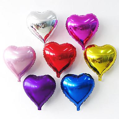 voordelige Ballonnen-Rekwisieten voor de feestdagen Ballonnen Speeltjes Cirkelvormig Hart Opblaasbaar Feest Niet gespecificeerd Stuks