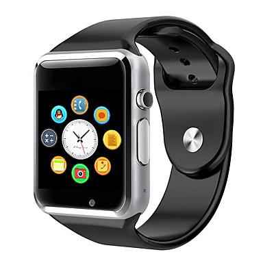 levne Dámské-Pánské Dámské Inteligentní hodinky Digitální hodinky Hybridní hodinky Digitální Pryž Vícebarevný Dotykový displej Kalendář Chronograf Digitální Zelená Modrá Růžová / Krokoměry / Rychloměr / tachometr