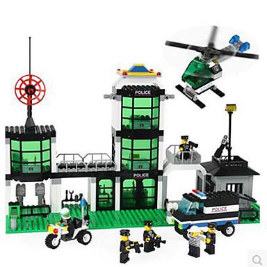 ENLIGHTEN Building Blocks Model Building Kits ของเล่นชุดก่อสร้าง ของเล่นการศึกษา DIY คลาสสิก ทุกเพศ เด็กผู้ชาย เด็กผู้หญิง Toy ของขวัญ