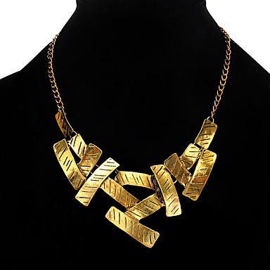 [$6 29] Women's Choker Necklace - Unique Design, Turkish Gold, Silver  Necklace For Party, Daily, Casual