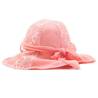 Women s Cotton Blend Lace Mesh Bowler Cloche Hat Sun Hat 04bce3593c3b