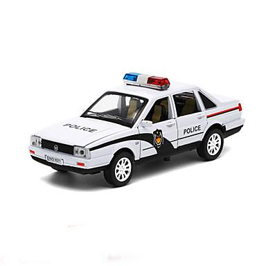 ดึงกลับยานพาหนะ รถตำรวจ รถยนต์ Toy ของขวัญ / Metal