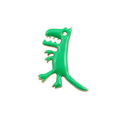 สำหรับผู้หญิง เข็มกลัด ข้าม Dinosaur มังกร แฟชั่น สไตล์น่ารัก เข็มกลัด เครื่องประดับ สีเขียว สำหรับ งานแต่งงาน ปาร์ตี้ โอกาสพิเศษ ทุกวัน ที่มา