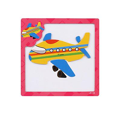 preiswerte 3D - Puzzle-Tangram 3D - Puzzle Holzpuzzle Flugzeug Magnetisch Holz Zeichentrick Kinder Spielzeuge Geschenk