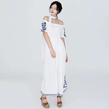 8af5b16bc333 υπογράψει Tularosa ιδιοσυγκρασία κέντημα δαντέλα στράπλες μάξι φόρεμα 2  χρώματα 5673915 2019 –  25.99