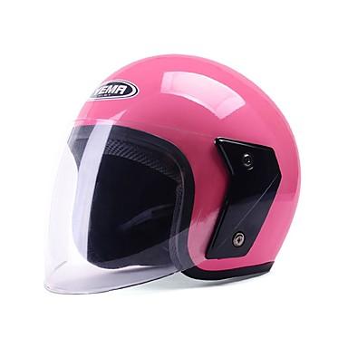 billige Motorsykkel & ATV tilbehør-YEMA YEMA607 Åpen hjelm Voksen Unisex Motorsykkel hjelm Anti-UV / Pustende