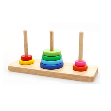 voordelige Rekenspeelgoed-Bouwblokken Voor cadeau Bouwblokken Ontspannende hobby's Vierkant Speeltjes 2 tot 4 jaar 5 tot 7 jaar Speeltjes