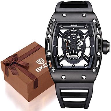 levne Dámské-Pánské Sportovní hodinky Vojenské hodinky Náramkové hodinky Křemenný Silikon Černá / Modrá / Červená 30 m Voděodolné Svítící Cool Analog - Digitál dámy Přívěšky Luxus Vintage Na běžné nošení -