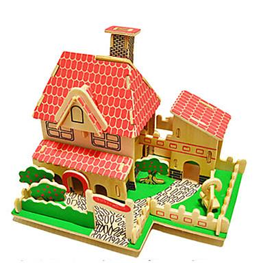 levne 3D puzzle-3D puzzle Zábava Dřevo Klasické Dětské Unisex Hračky Dárek