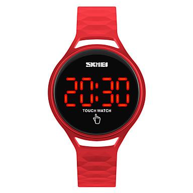 preiswerte Damen Sportuhr-SKMEI Uhr Sportuhr Armbanduhr Digitaluhr Japanisch Digital Silikon Schwarz / Blau / Rot 30 m Wasserdicht Cool digital damas Modisch Dunkelblau Gelb Rot / Zwei jahr / Zwei jahr / Maxell626 + 2025