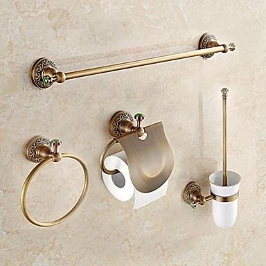 Bathroom Accessory Set Antique Brass 1set Bathroom 5794192 2019