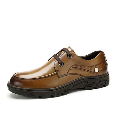 Zapatos marrones casual unisex dUnyMlc