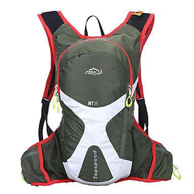 cheap Running Bags-Cycling Backpack Commuter Backpack Running Pack 15L for Running Leisure Sports Traveling Sports Bag Multifunctional Waterproof Wearable Terylene Running Bag / Reflective Strips / iPhone 8/7/6S/6