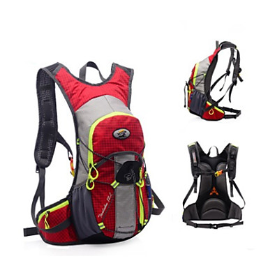 cheap Running Bags-Commuter Backpack Running Pack for Running Leisure Sports Cycling / Bike Traveling Sports Bag Multifunctional Waterproof Rain Waterproof Canvas Nylon Running Bag