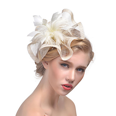 povoljno Party pokrivala za glavu-Til / Perje Fascinators s 1 Vjenčanje / Special Occasion Glava