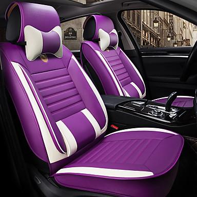 voordelige Auto-interieur accessoires-ontruiming odeer auto stoelhoezen stoelhoezen grijs / paars / koffie pu (polyurethaan) business voor universeel