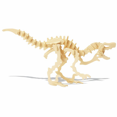 levne 3D puzzle-3D puzzle Dřevěné puzzle Dinosaurus Fosilní kosti Udělej si sám 1 pcs Dětské Unisex Chlapecké Dívčí Hračky Dárek