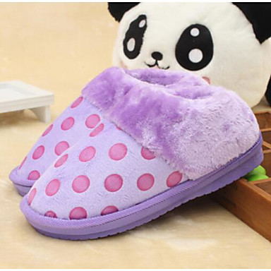 3bc6b3ecc928 Women s Shoes Sheepskin Winter Comfort Slippers   Flip-Flops For Casual  Purple Red Blushing Pink 5795011 2019 –  26.99