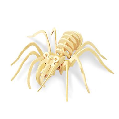 voordelige 3D-puzzels-3D-puzzels Legpuzzel Modelbouwsets Eend Insect SPIDER Dieren DHZ Hout Klassiek Unisex Speeltjes Geschenk