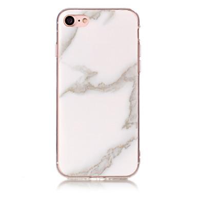 povoljno iPhone maske-Θήκη Za Apple iPhone 7 Plus / iPhone 7 / iPhone 6s Plus IMD Stražnja maska Mramor Mekano TPU