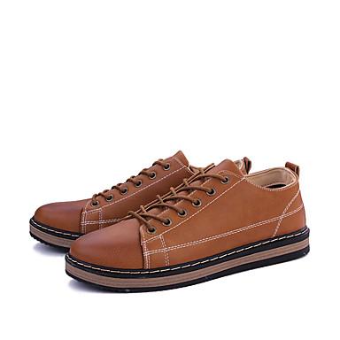 15b0562bdfa96 Hombre Zapatos Semicuero Primavera   Verano   Otoño Confort   Botas de Moda  Botas Paseo Negro   Amarillo   Marrón   Cuentas 5815689 2019 –  16.99