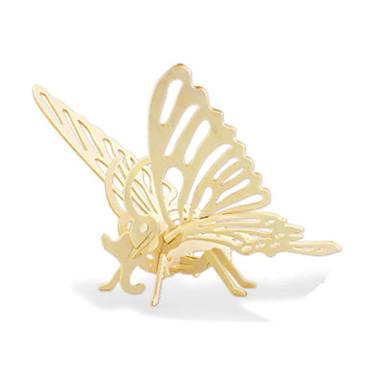 voordelige 3D-puzzels-3D-puzzels Legpuzzel Houten modellen Dinosaurus Vliegtuig Vlinder DHZ Puinen Kinderen Unisex Jongens Meisjes Speeltjes Geschenk