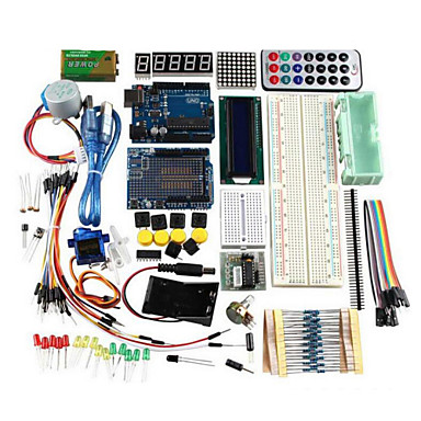 cheap DIY Kits-UNO R3 Basic Starter Learning Kit Upgrade Version For Arduino