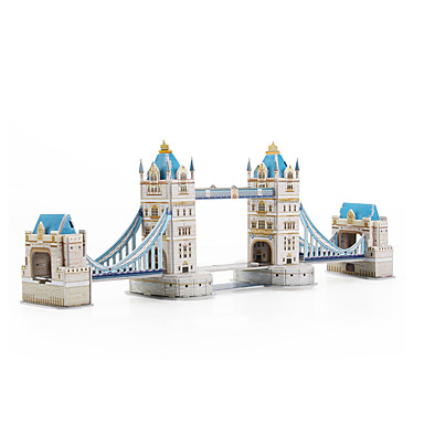 voordelige 3D-puzzels-3D-puzzels Beroemd gebouw London bridge Papier 1 pcs Kinderen Speeltjes Geschenk