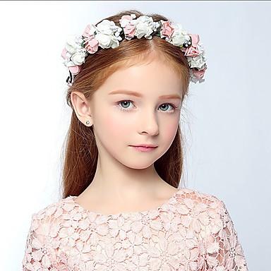 povoljno Party pokrivala za glavu-Pjena Trake za kosu / Cvijeće / Šeširi s Cvjetni print 1pc Vjenčanje / Special Occasion / Kauzalni Glava