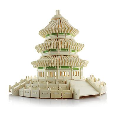 voordelige 3D-puzzels-3D-puzzels / Legpuzzel / Modelbouwsets Beroemd gebouw / Chinese architectuur / tempel van de Hemel Simulatie Puinen Kinderen / Volwassenen