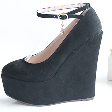 Nicekicks Barato en línea Zapatos grises Tacón de cuña para mujer Venta en línea Precio al por mayor para la venta Salida 2018 Descuentos en línea 7iN5r