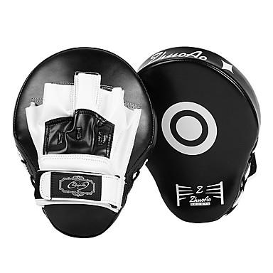 halpa Nyrkkeily ja kamppailulajit-Boxing ja Martial Arts Pad Nyrkkeilyhanskat Käyttötarkoitus Taekwondo Vapaaottelu Potkunyrkkeily UFC Professional Level Nopeus Kestävä PU 1 pcs Musta Rubiini