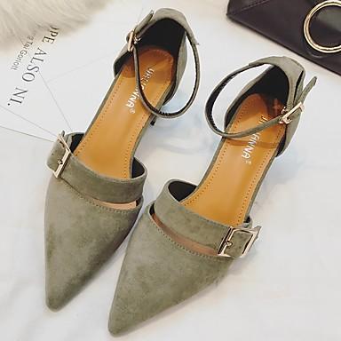 [$19.59] Damen High Heels Leuchtende LED Schuhe Satin Nylon Schafspelz Kaschmir Normal Leuchtende LED Schuhe Niedriger AbsatzSchwarz Beige