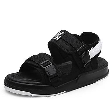 b082d5fcca2 Men s Shoes PU Spring Summer Comfort Sandals Magic Tape For Casual Outdoor  Black Light Grey Black Red 5797258 2018 –  27.99
