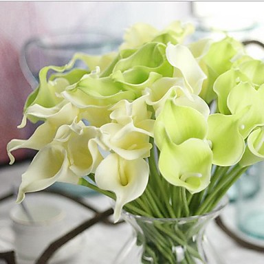 cheap Artificial Flowers & Vases-Real touch Modern Style Bouquet Tabletop Flower Bouquet 10