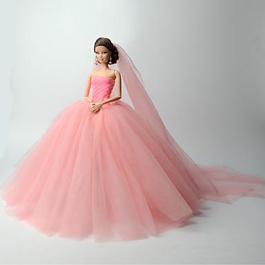 Wedding Dresses For Barbie Doll Girls Toy 5783294 2017 999