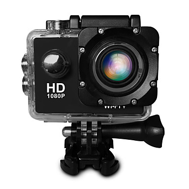 cheap Sports Action Cameras & Accessories  For Gopro-SJ4000 Sports Action Camera Gopro vlogging WiFi / Adjustable / Wide Angle 32 GB 30fps 20 mp 4608 x 3456 Pixel Diving / Ski / Snowboard / Radio Control CMOS H.264 Single Shot / Burst Mode / Time-lapse