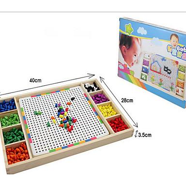 voordelige tekening Speeltjes-Houten puzzels Mozaïeksets Plezier Hout Klassiek Speeltjes Geschenk