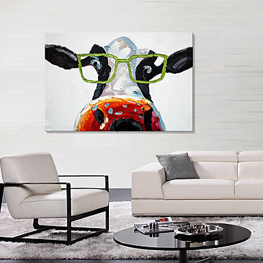 Stretched Canvas Print Animals European Style, One Panel Canvas ...