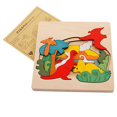 preiswerte Jigsaw Puzzles-Muwanzi Holzpuzzle Dinosaurier Tiere Hölzern Zeichentrick Jungen Mädchen Spielzeuge Geschenk
